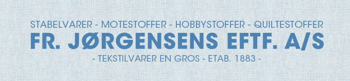 Logo, Fr. Jørgensens Eftf. AS